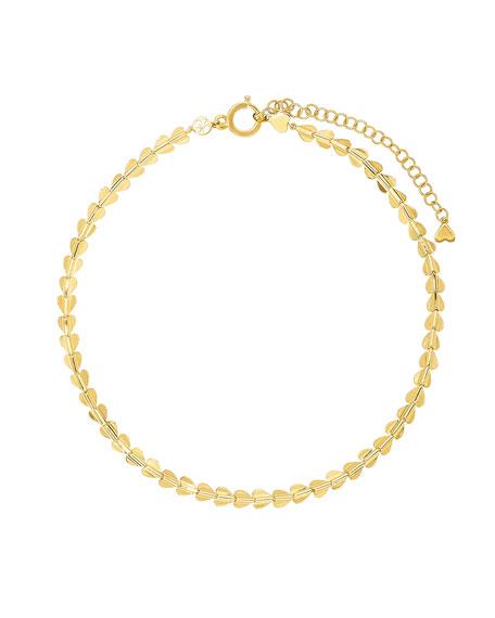 """CADAR Wings of Love 18k Short Necklace, 16"""""""