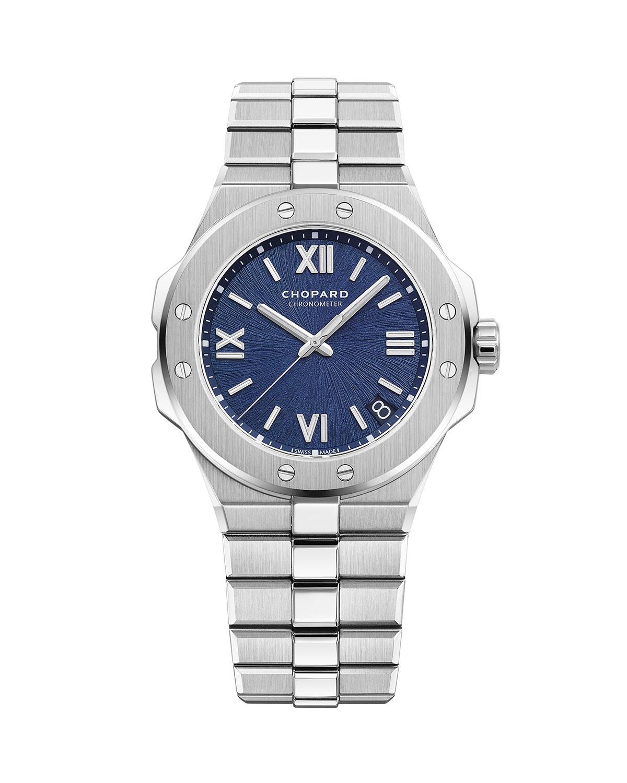 41mm Stainless Steel Watch w/ Bracelet Strap
