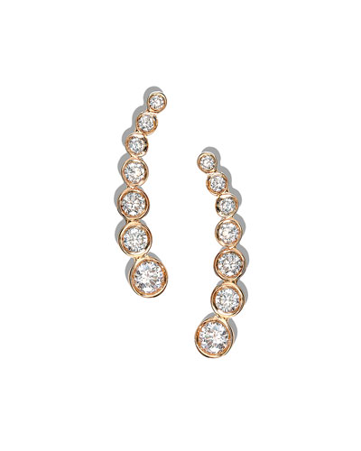 14k Femme Fatale Diamond Stud Earrings