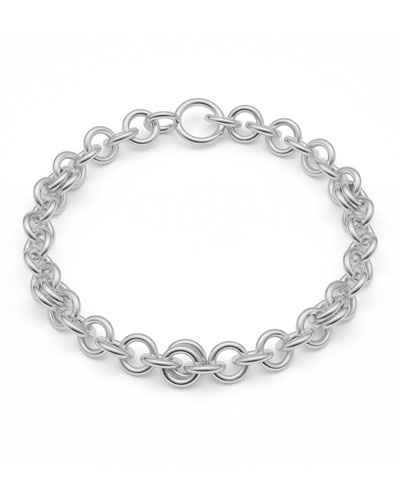 Serpens Sterling Silver Chain Bracelet