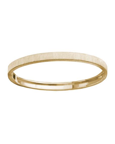 Buccellati Macri Classica 18K Gold Bangle Bracelet, 5mm
