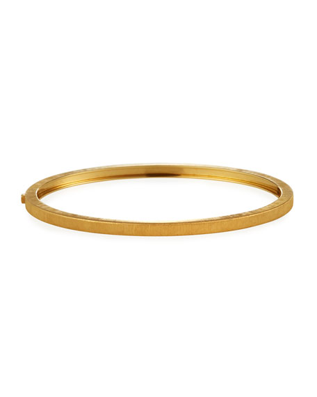 Buccellati Macri Classica 18k Yellow Gold Bangle, 3mm