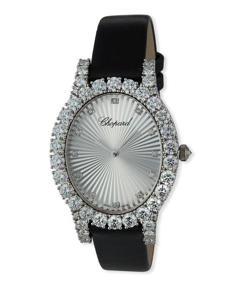 Chopard L'Heure du Diamond Oval Medium Watch, 7.28tcw