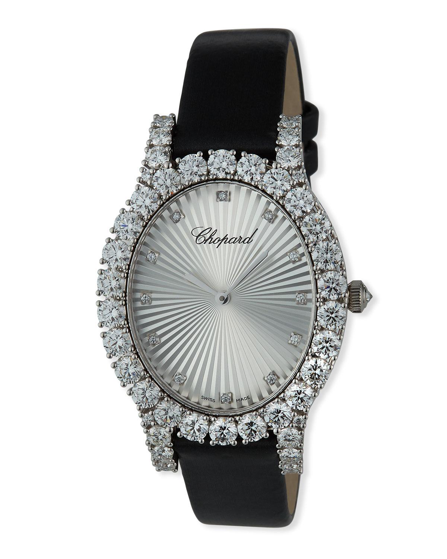 L'Heure du Diamond Oval Medium Watch
