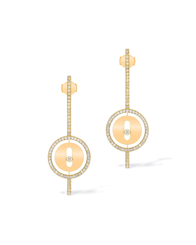 Lucky Move 18k Arrow Diamond Earrings