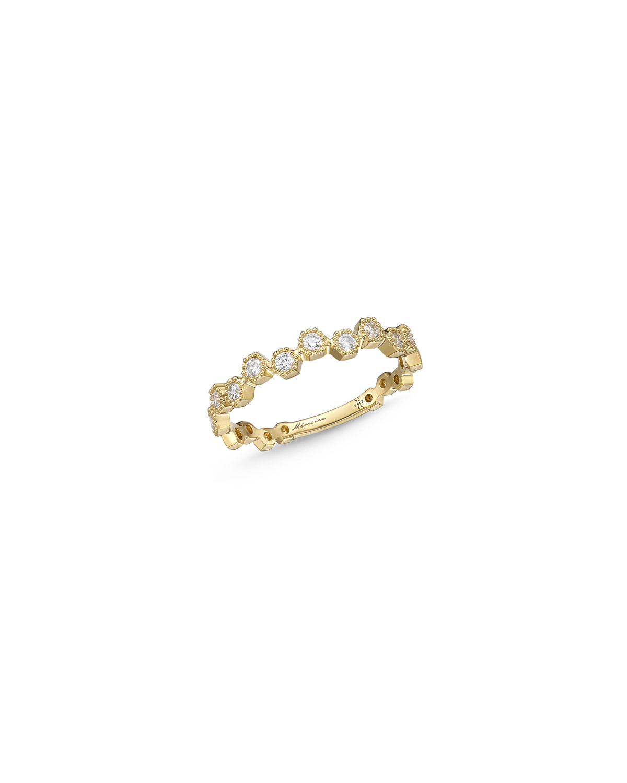 Stack'Em 18k Diamond Ring