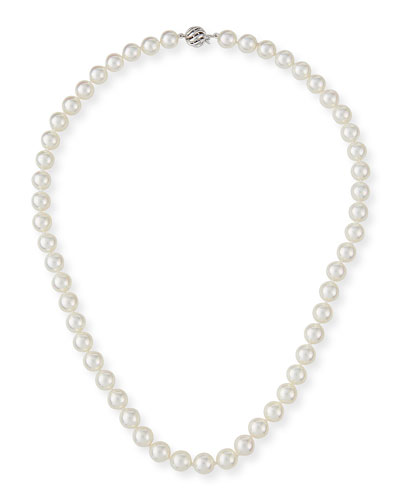 Cultured Pearl Necklace Neiman Marcus