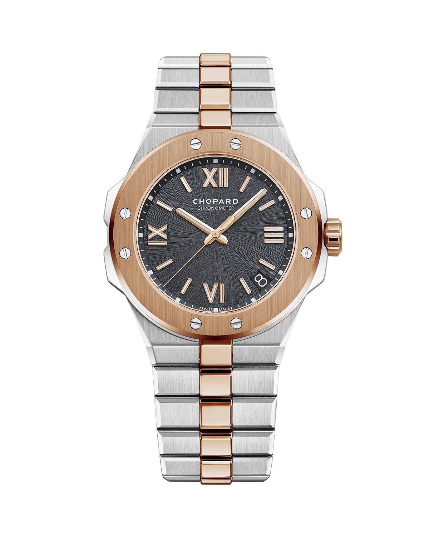 41mm Two-Tone Watch w/ Bracelet Strap