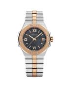 Chopard 36mm Two-Tone Watch w/ Bracelet Strap, Gray