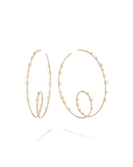 Lana Rodeo 65mm Solo Loop Hoop Earrings in 14k Gold