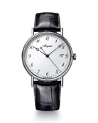 Breguet 38mm Classique 18k White Gold Date Watch