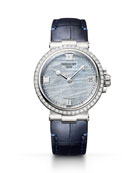 Breguet La Marine 33.8mm 18k White Gold Mother-of-Pearl