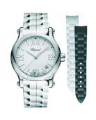 Chopard 36mm Happy Sport Interchangeable Watch w/ Diamonds