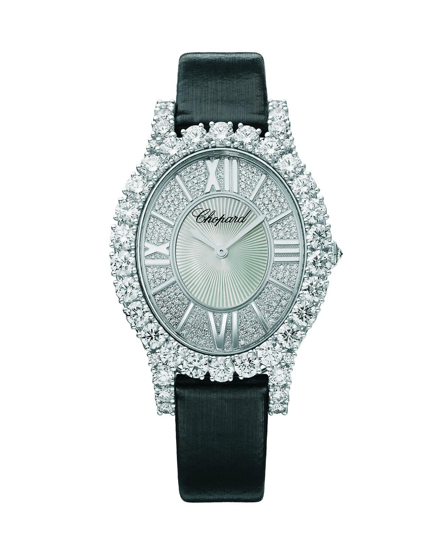 18k White Gold All-Diamond Automatic Watch