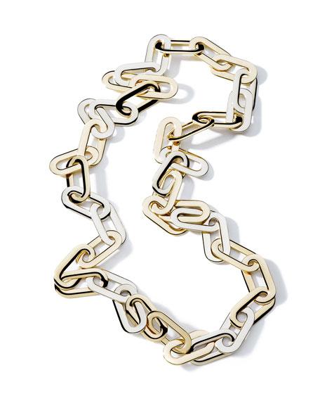 Vhernier Mon Jeu Oval-Link Necklace