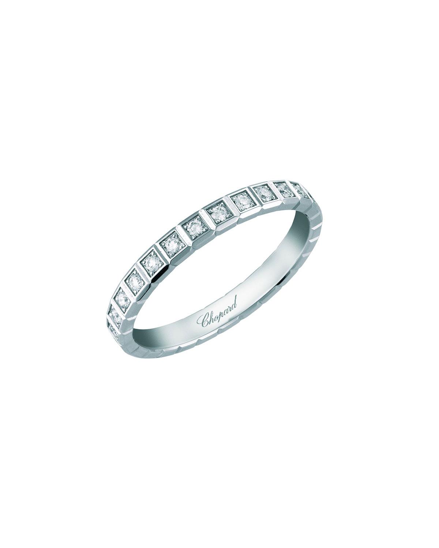 18k White Gold Ice Cube Diamond Ring