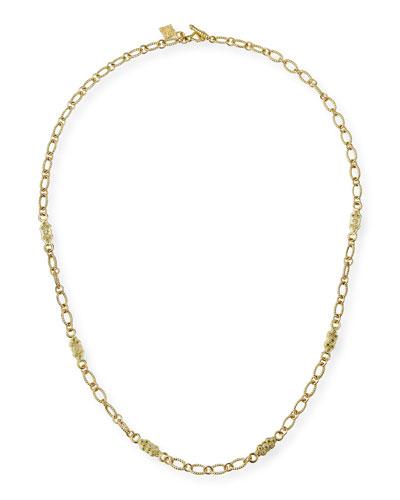 Sueno 18k Gold Necklace with Diamonds