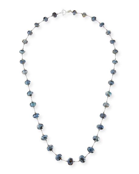 "Margo Morrison Long Labradorite & Crystal Necklace, 35"""