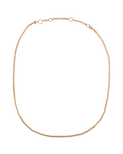 14k Classic Curb Link Chain Necklace