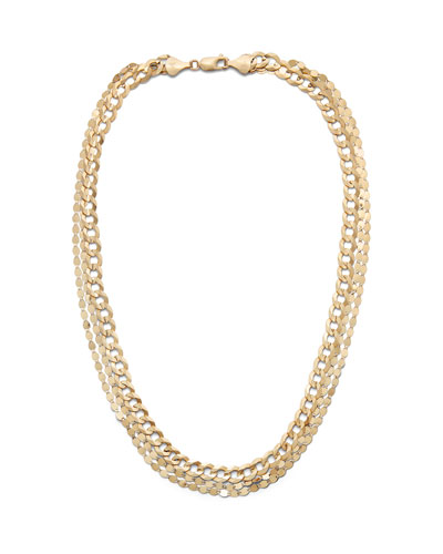 14k Nude Casino Layering Necklace