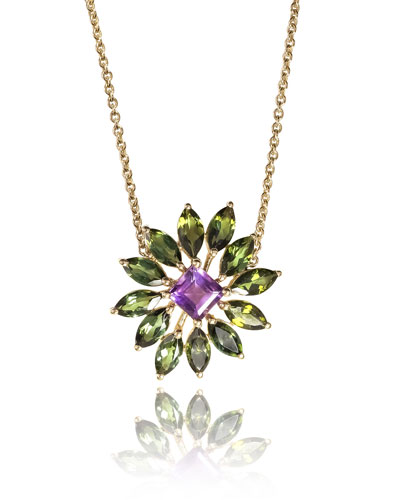 Gold Amethyst Necklace | Neiman Marcus