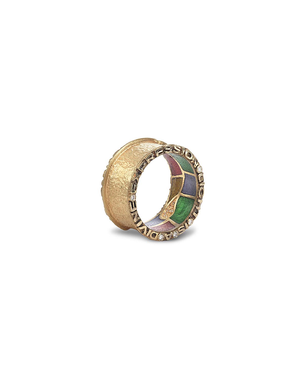 20K Sagrada Passion Diamond Ring