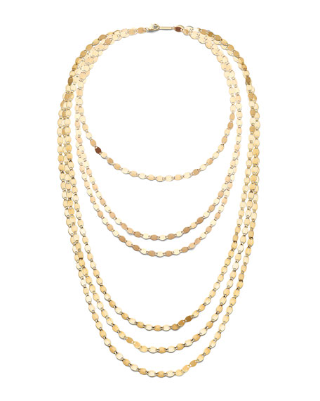 Lana 14k Nude 6-Strand Layering Necklace