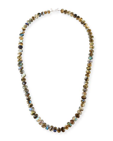 """Margo Morrison Long Labradorite Necklace, 35""""L"""