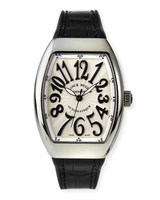 Vanguard Automatic Watch w/ Alligator Strap