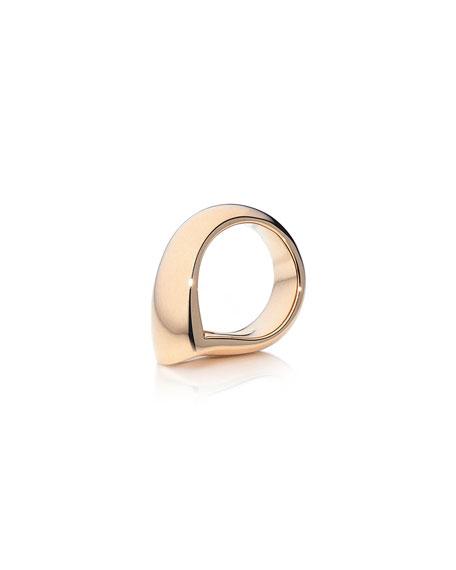 Tamara Comolli 18k Rose Gold Large Drop Ring