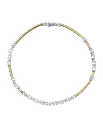 Feelings 18k Gold Diamond Necklace