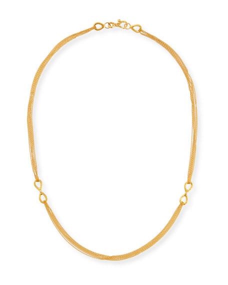 Gurhan 24K Infinity Diamond-Link Necklace
