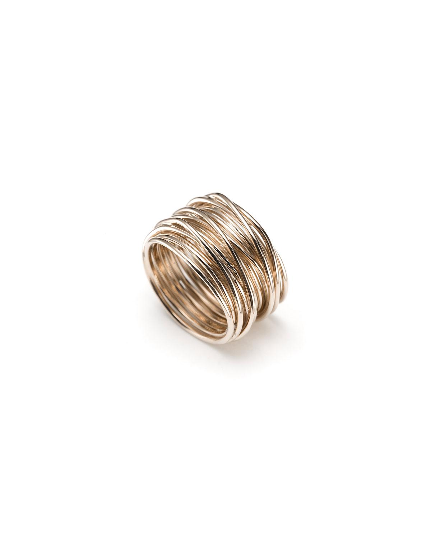 Tibet Multi Wire Ring in 18k Rose Gold