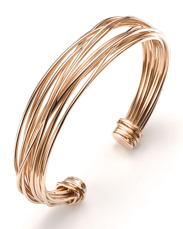 18k Rose Gold Tibet Bracelet