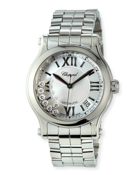 Chopard Happy Sport Automatic Stainless Steel Bracelet Watch