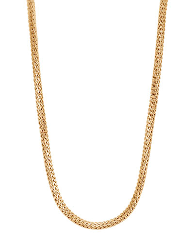 Classic Chain 18k Gold Necklace, 18