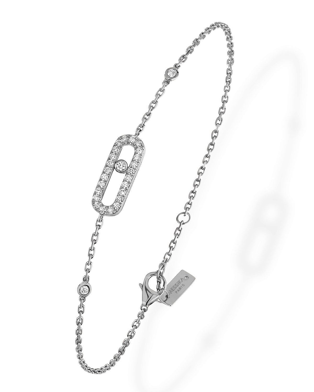 Move Uno Diamond Bezel Bracelet