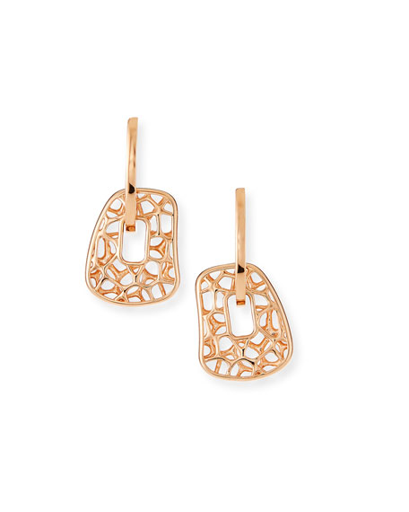 Mattioli Small 18k Rose Gold Puzzle Earrings, Set of 3