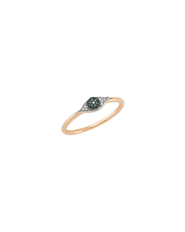 Eye Light Small Pave Diamond Ring