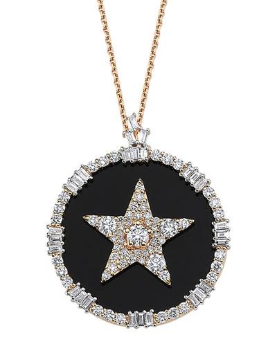 Sirius Stat 14k Diamond Pave Necklace