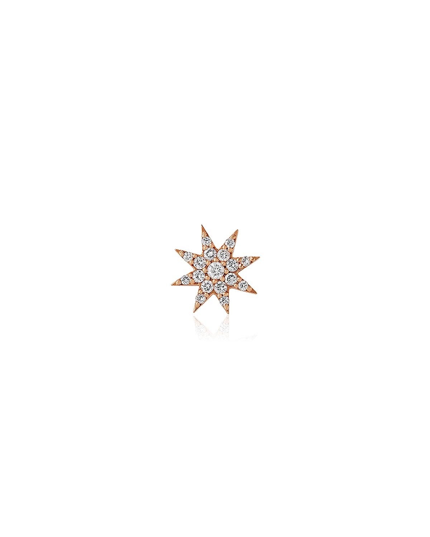 Venus Star 14k Diamond Stud Earring