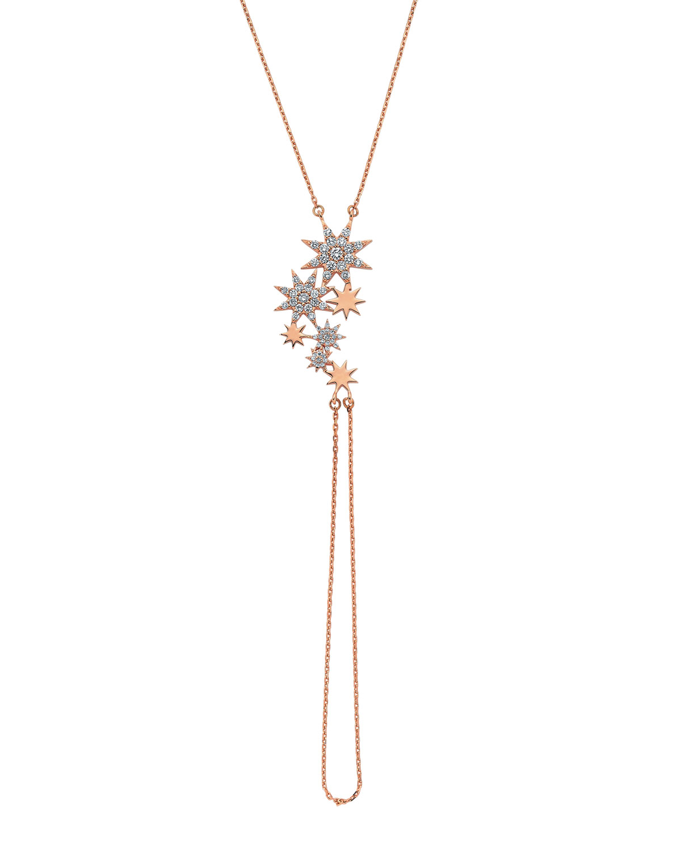 Venus Star 14k Diamond Hand Bracelet