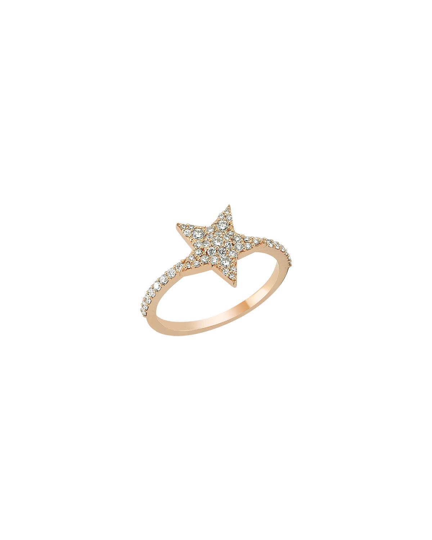Sirius Star 14k Diamond Ring