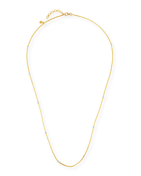 "Gurhan 24K Vertigo Long Diamond Necklace, 38""L"
