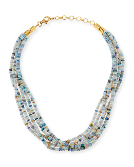 Gurhan One-of-a-Kind Opal 5-Strand Necklace