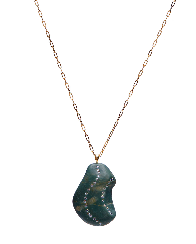 18k Gold Irregular Flex Necklace