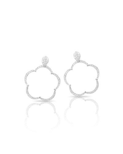 Pave Diamond Earrings Neiman Marcus