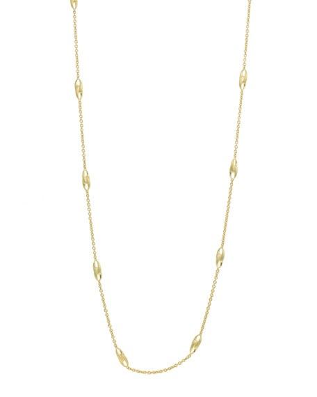 "Marco Bicego Lucia Long-Link Necklace, 39""L"