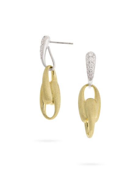 Marco Bicego Lucia Diamond Link-Drop Earrings