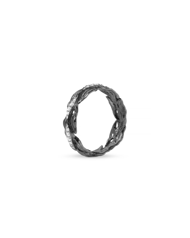 Laurel Band Ring w/ Diamonds